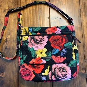 NWOT Vera Bradley Havana Rose Mailbag